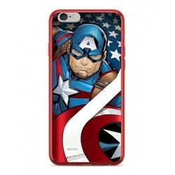CASE CHROME MARVEL CAPTAIN AMERICA 004 IPHONE XS MAX RED