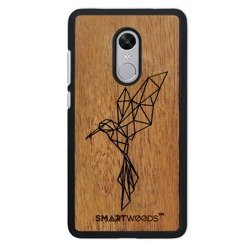 CASE WOODEN SMARTWOODS HUMMINGBIRD SAMSUNG GALAXY NOTE 10 PLUS