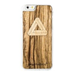 CASE WOODEN SMARTWOODS TRIANGLE CLEAR IPHONE 6 / 6S