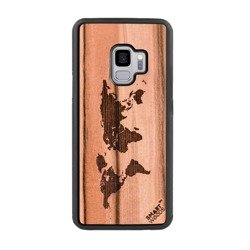 CASE WOODEN SMARTWOODS WORLD MAP SAMSUNG GALAXY A70