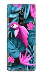 CaseGadget CASE OVERPRINT PARROT AND FLOWERS SONY XPERIA 1