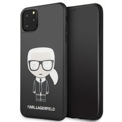KARL LAGERFELD HARD CASE ICONIC FULL BODY KLHCN65DLFKBK IPHONE 11 PRO MAX BLACK