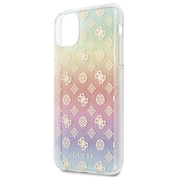 GUESS HARD CASE IRIDESCENT 4G PEONY GUHCN65PEOML IPHONE 11 PRO MAX MULTICOLOR