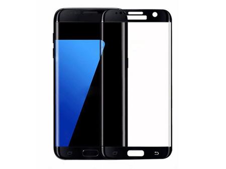 TEMPERED GLASS FULL SCREEN 3D SAMSUNG S7 EDGE BLACK