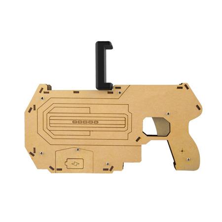 WOODEN GUN FOR GAMES 3D VR GUN BLUETOOTH